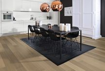 Black & White Interiors / Black and white is a classic theme which can be showcased in all rooms of your home. Kährs floors range from very light to very dark, helping you complete your monochrome interior.