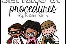 Classroom procedures / by Brittany Wynn