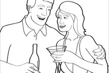 Humoristic Coloring Pages for Adults