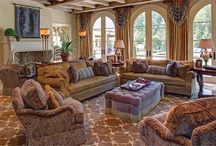 Alice Busch | Lucas Trunnell, Allied / Great Falls Distinctive Interiors, Inc. - TOP INTERIOR DESIGNER H&D PORTFOLIO - DC/MD/VA - http://www.handd.com/GFDII - Alice Busch grew up overseas and her son, Lucas Trunnell, has spent time living abroad. So it is only fitting that today the designers, both principals at Great Falls Distinctive Interiors Inc., embrace a European sensibility when it comes to their work.