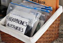 Organise / Grandes ideias de como nos organizar. Coisas simples que facilitam a nossa vida.