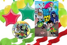 Teen Titans Go Party Ideas / Here are some ideas for a Teen Titans Go Party
