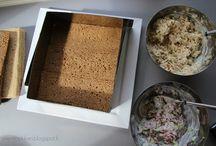 suolaiset leivonnaiset,voileipäkakut