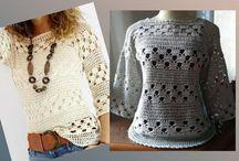 roupas croche
