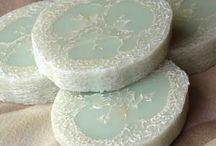 Мыло-мочалка