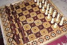 3D quilling chess