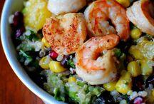 Salad/quinoa & superfood / Mat med mer