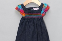 Clothes for My Girls / Rainbow denim dress from Teddy Boom / by Sarah Forcier