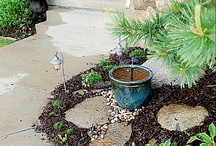 Fountains: DIY / Backyard fountain ideas once new retaining wall is in place / by Cindy Carnes