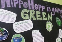 Going Green at HippoHopp! / We are going green every step of the way!  We recycle everything possible. Ask us about our non-toxic eco-friendly cleaning supplies that disinfect AND keep your kids safe.  Our walls are painted exclusively with non-voc paint to reduce toxins from seeping into the air.  Our inflatables are all certified lead-free.  We use local and organic options in our cafe whenever possible.  + tons more ways we are doing our part for the environment.