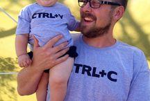 camisetas papá e hijo