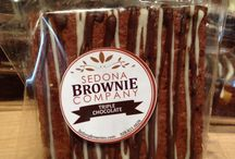 Sedona Brownie Company / Delicious Sedona Brownies available in a variety of delicious flavors! Available at our retail location at Sedona Cake Couture, 1710 Arizona 89A, Sedona AZ  or we can ship! Visit Sedonacakes.com or  Cake Couture for more info!