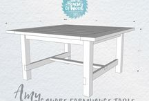 diy diner table