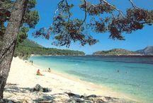 Spanien playa de formentor
