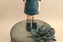 Gorjuss Doll Cakes