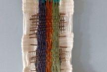 Tejidos / Telar con lanas de oveja