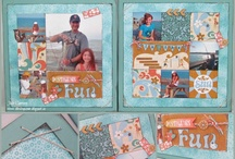 CTMH Surf's Up Layouts/Cards / by Rachel Apling
