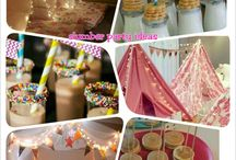 Isla's Birthday Party Ideas / Baby girls birthday party ideas.