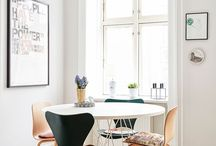 How to decorate with lamps / Find inspiration of where to hang lamps, and where they might be needed.