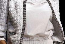 Spencer crochê branco e preto