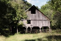 Beautiful Barns / Old barns that have seen a lot of living and have a great deal of character.