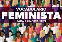 vocabulario feminista