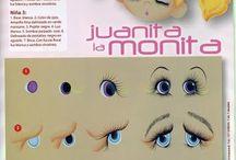 Olhos de bonecas