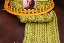 Loom knitting projects