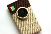 Fundas moviles crochet