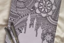Zentangles and Doodles / Oodles of doodles!