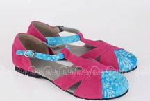 my work / batik shoes and jewellery making indonesia