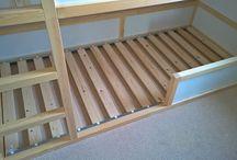 poschodová posteľ Kura