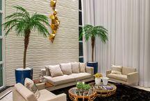 Salas de Estar | Living Room / Veja muito mais fotos, dicas e informações técnicas de cada SALA DE ESTAR no blog Decor Salteado! É só clicar nas imagens! ; - )