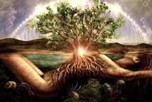 femminine & masculine / yin, yang, natural cycles, tree of life