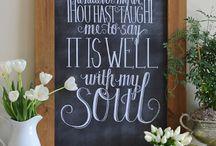 Inspirational Quotes / Inspirational quotes about life and faith.