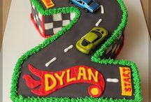 Car Cakes for Little Boys/Big Boys