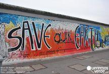 Arte urbano / El #arteurbano es una forma de expresión y reivindicación actuales. Cada pared de la ciudad, cada rincón es una oportunidad para expresar un mensaje que anime a cuidar y mantener el medio ambiente y el consumo eco-lógico