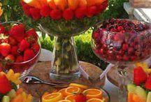 Decorazioni con frutta