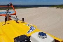 Walk Behind Beach Cleaner Clean Sands