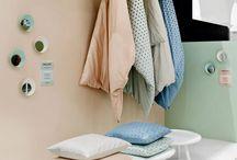 Bed textile VM display