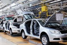 Fabryka Samochodów / Zdjęcia i koncepty fabryki samochodów i jej wyposażenia