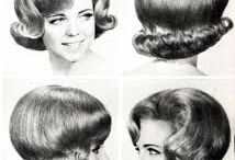 Hair styles sixties\Haarstijlen 60er jaren / zestiger jaren