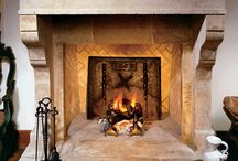 Antique Fireplaces / Antique Limestone Fireplaces