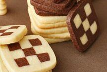 damalı kurabiye