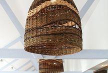 светильники плетеные