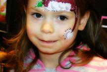 Maquillages visage Noël