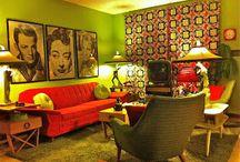 Ambientes vintage / Espacios decorados con estilo