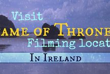Road trip in Nothern Ireland - See the Game of Thrones filming locations! / Map of the filming locations of Game of Thrones in Northern Ireland