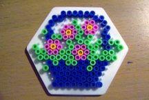 Hama beads - Fiori