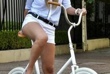 Pessoas de Bike pela vida